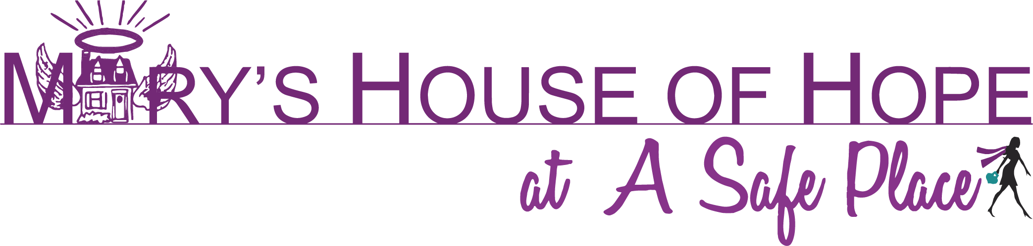Mary's House of Hope at A Safe Place logo